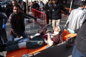 Officials say 40 killed, 140 wounded in Afghan car bombing