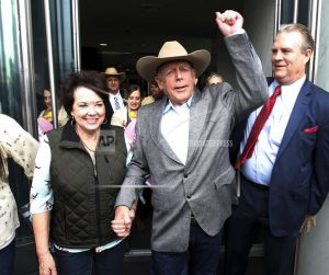 Bundy insists US can't own land, no matter who's president