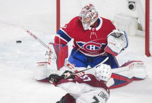 Canadiens win 4-2, stop Avalanche streak at 10 games