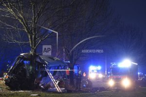 3 dead, 48 injured in bus crash near Czech capital of Prague