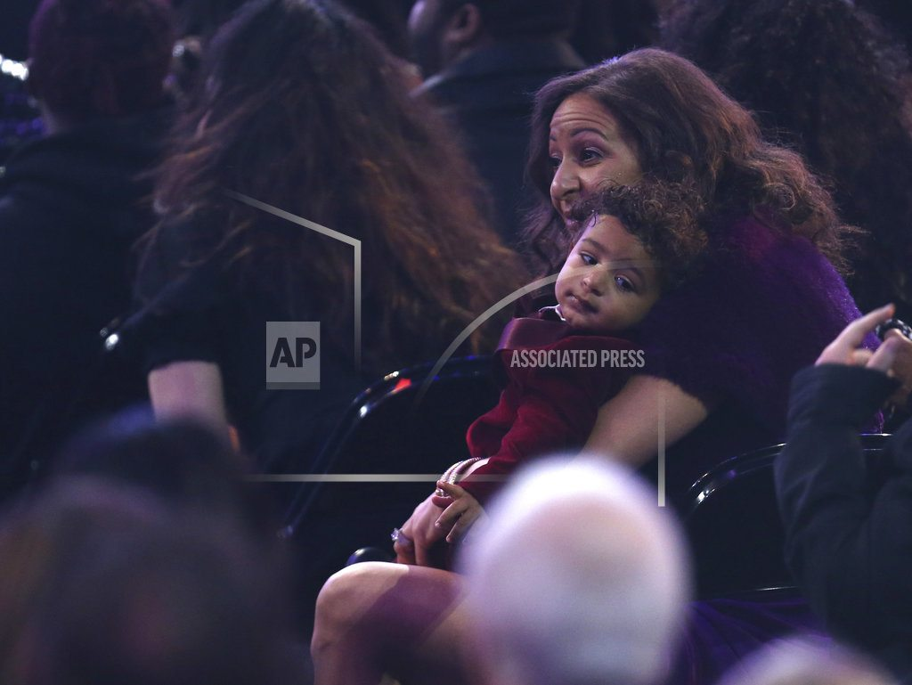Spotted on the Grammy carpet, a baby and a grandmother