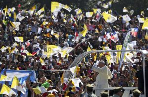 The Latest: Pope meets with Chileans abused by priests