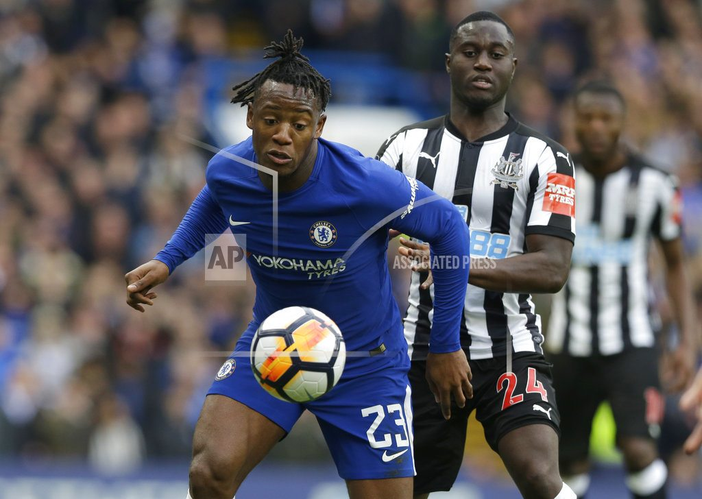 Batshuayi double leads Chelsea past Newcastle in FA Cup