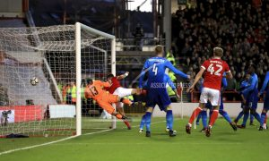 Arsenal's FA Cup defense ended by 2nd-tier Nottingham Forest