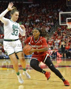 No. 3 Louisville women dominate No. 2 Notre Dame 100-67