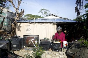 On earthquake anniversary, Haitians trying to rebuild