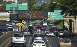 Federal responsibility in nuclear attack alerts is unclear
