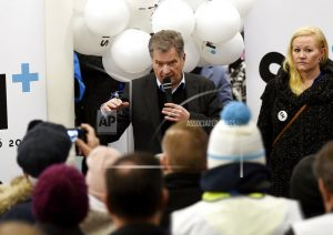 Finns vote in presidential election; incumbent the favorite