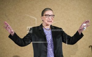 Justice Ginsburg, nearing 85, signals she won't retire soon
