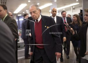 Grassley may release Russia interviews of Trump Jr., others