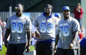 Jaguars' Ngakoue, Bills' Incognito clear air after remarks