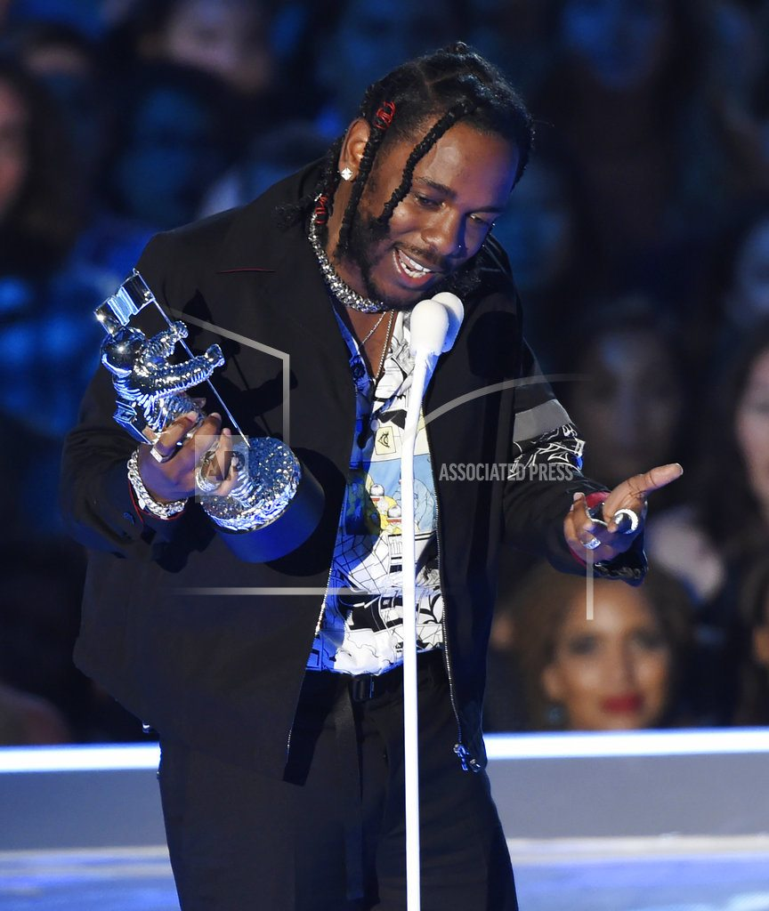 Kendrick Lamar is king of Grammys, so far, with 5 wins