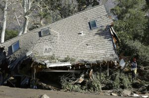 Mudslide-stricken California town is all but emptied out