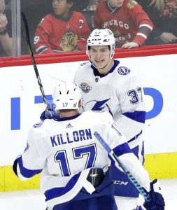 NHL's newcomers taking turn atop league at All-Star break