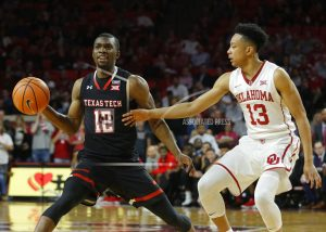 Young's 27 lift No. 9 Oklahoma over No. 8 Texas Tech 75-65