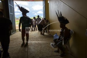 Peru's indigenous await Pope Francis in scorching Amazon
