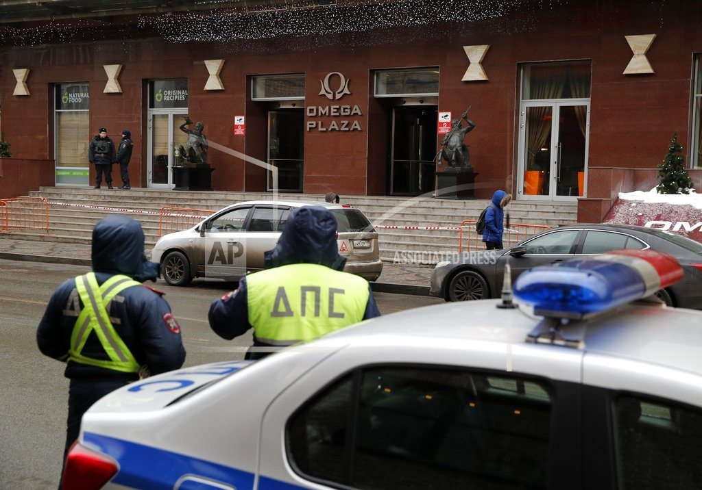 Police raid Russian opposition leader's HQ as protests arise