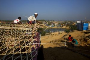 Among Rohingya, refugee squalor can seem better than home