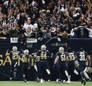 Saints beat Panthers, confident about rematch with Vikings