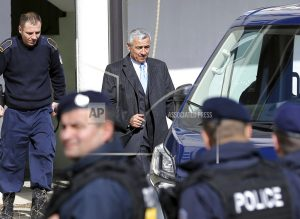 The Latest: Kosovo president condemns Serb leader's shooting