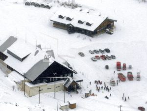 12 skiers injured by flying rocks on Japanese volcano