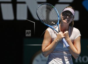 Turning up the heat: Sharapova into 3rd round, Konta out