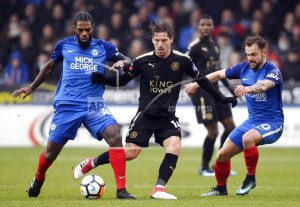Iheanacho brace as Leicester thrashes Peterborough in FA Cup