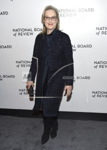 Streep says 'We can get through this moment' at NBR Awards