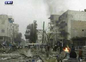 Syrian insurgents in counteroffensive in northwestern area