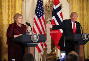 Who'd prefer their country to Trump's US? Norwegians would