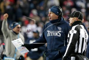 Titans split with Mularkey after 1st playoff win in 14 years