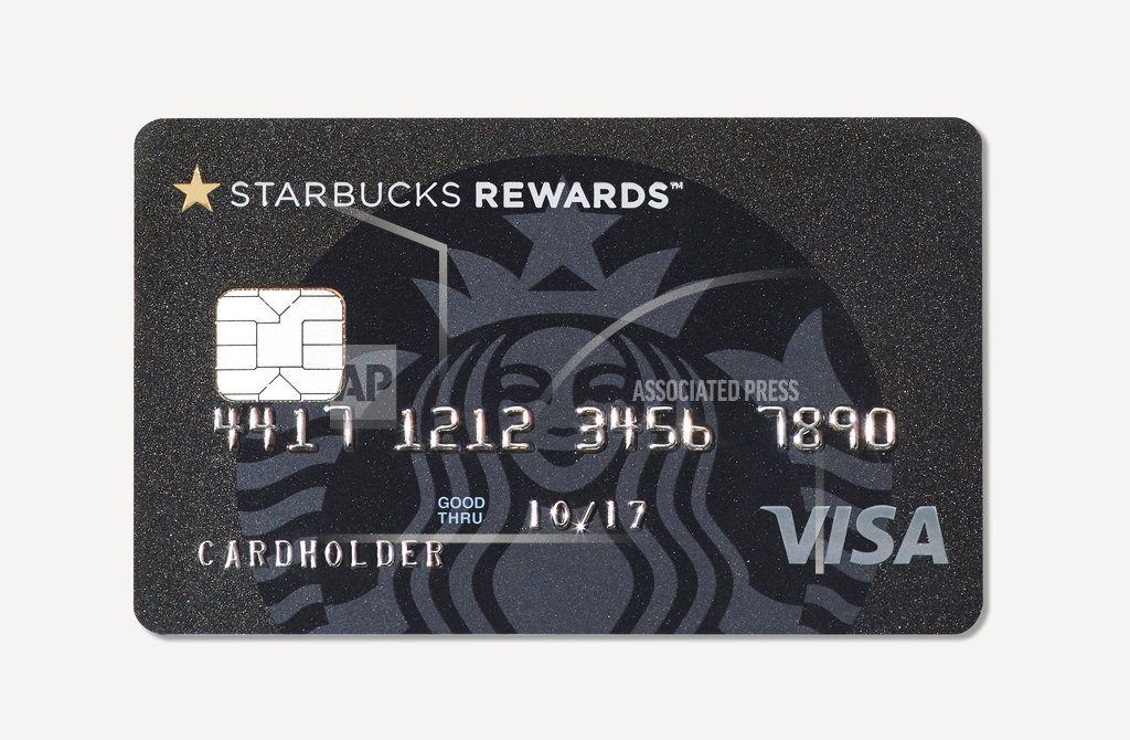 Starbucks launches credit card, hoping to jolt sales