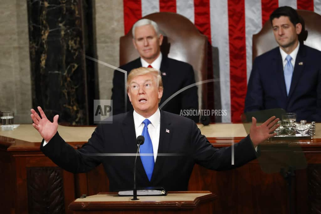 AP FACT CHECK: Trump's week of faulty claims