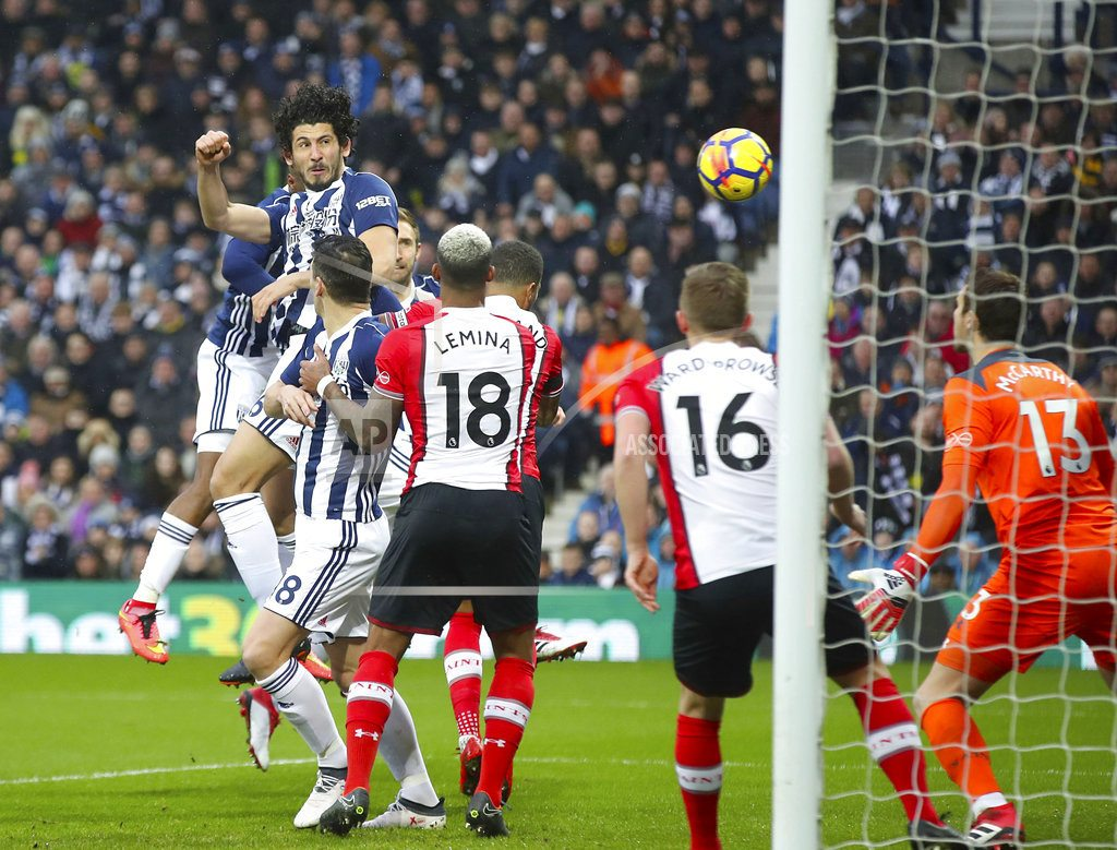 Southampton moves out of drop zone, deepens West Brom woes