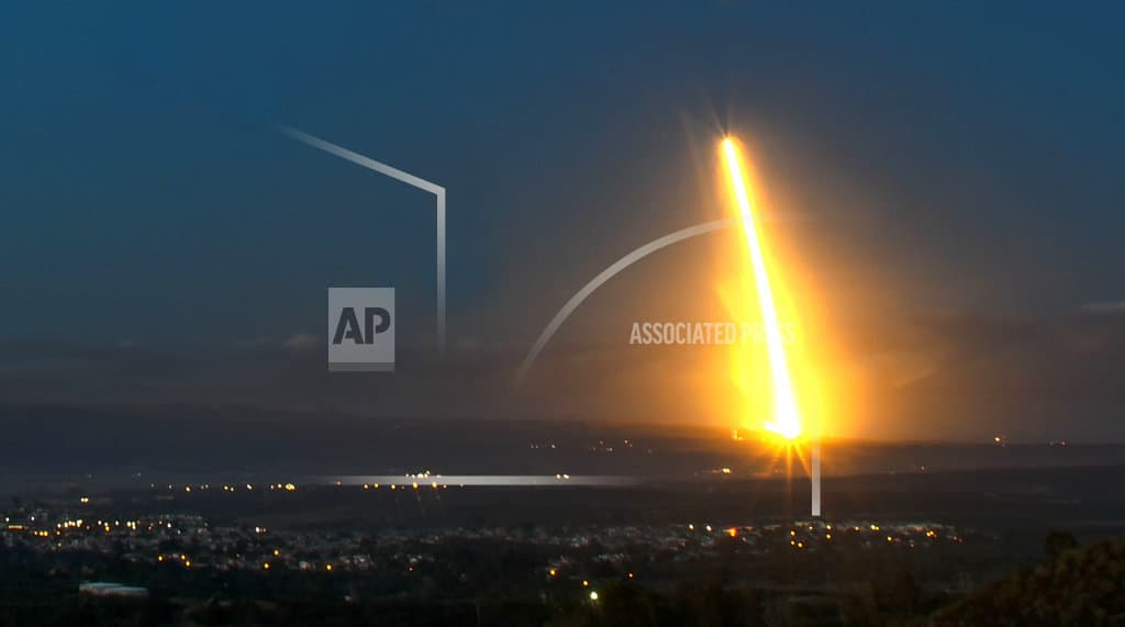 SpaceX launches Spanish satellite, 2 others from California