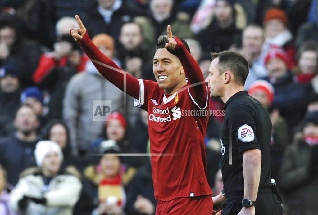 Liverpool passes century of goals with 4-1 win over West Ham