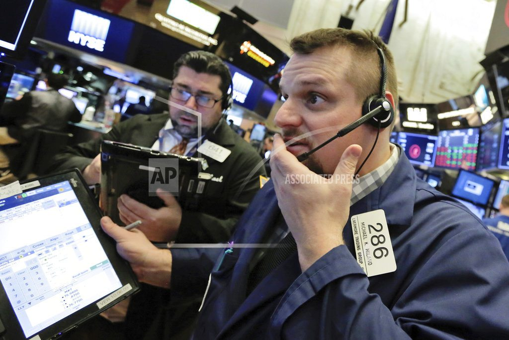Markets Right Now: Asian markets track plunge on Wall Street