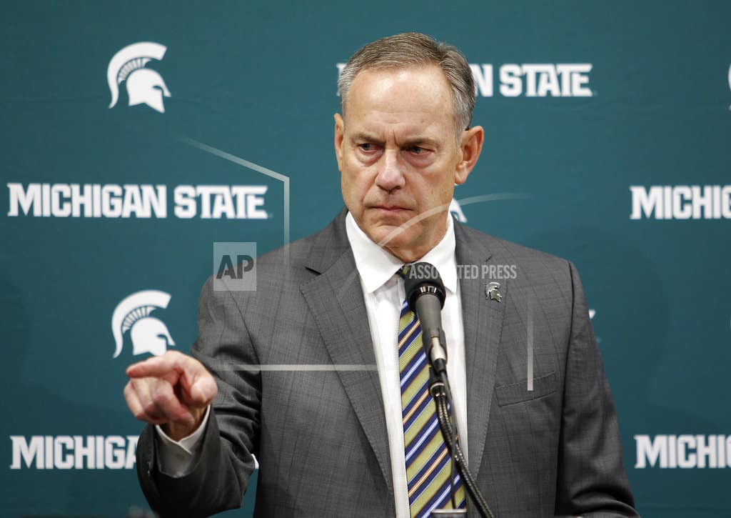 Dantonio says he wants to be part of solution at Michigan St