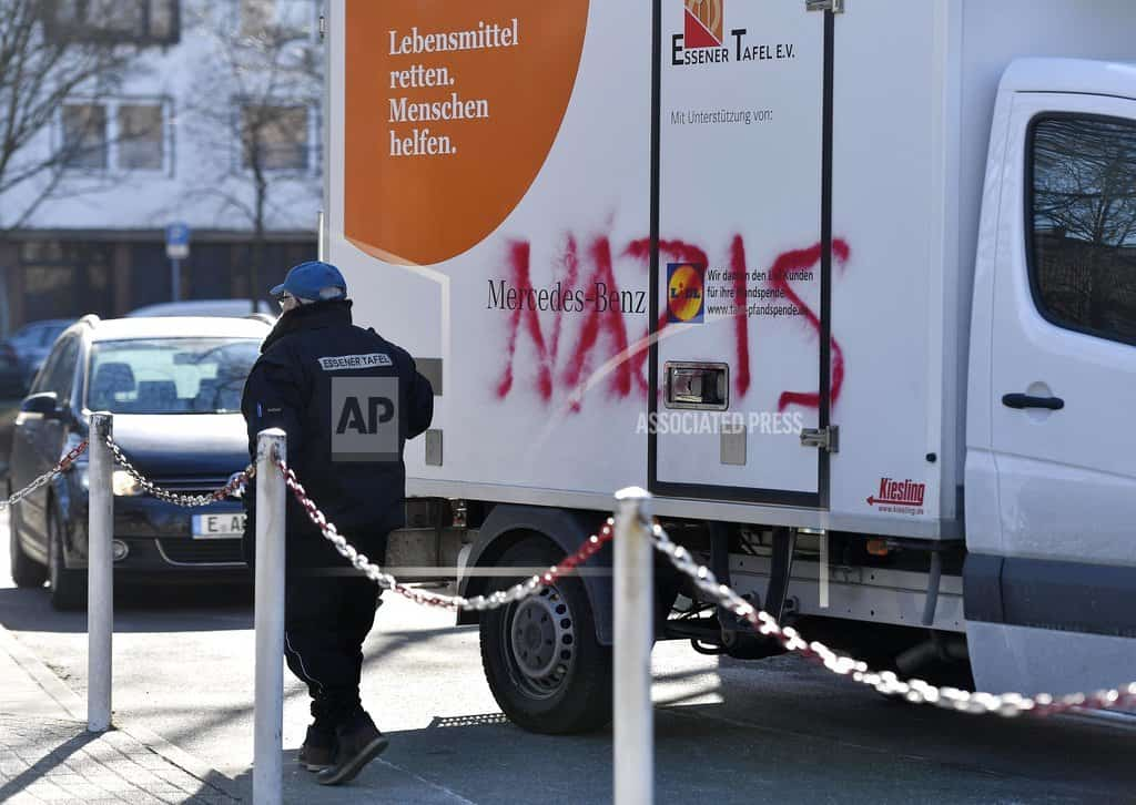 German food bank hands out access cards for Germans only