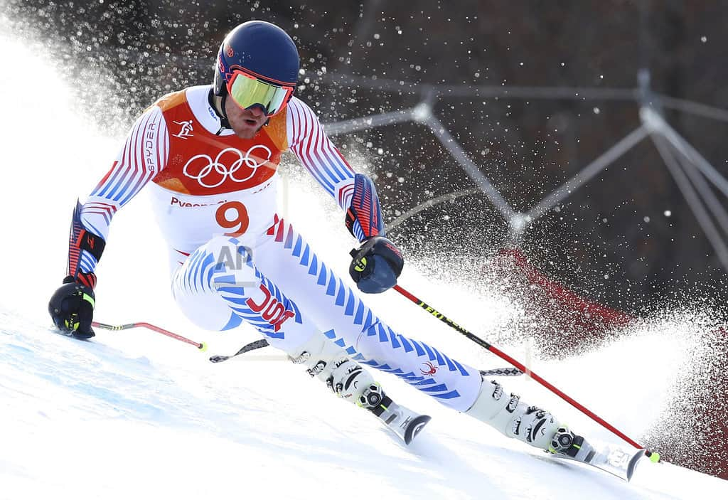 Ligety's slow 1st run likely ends medal hopes in GS defense