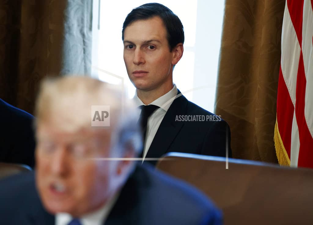 Kushner security status reduced, cutting access to secrets