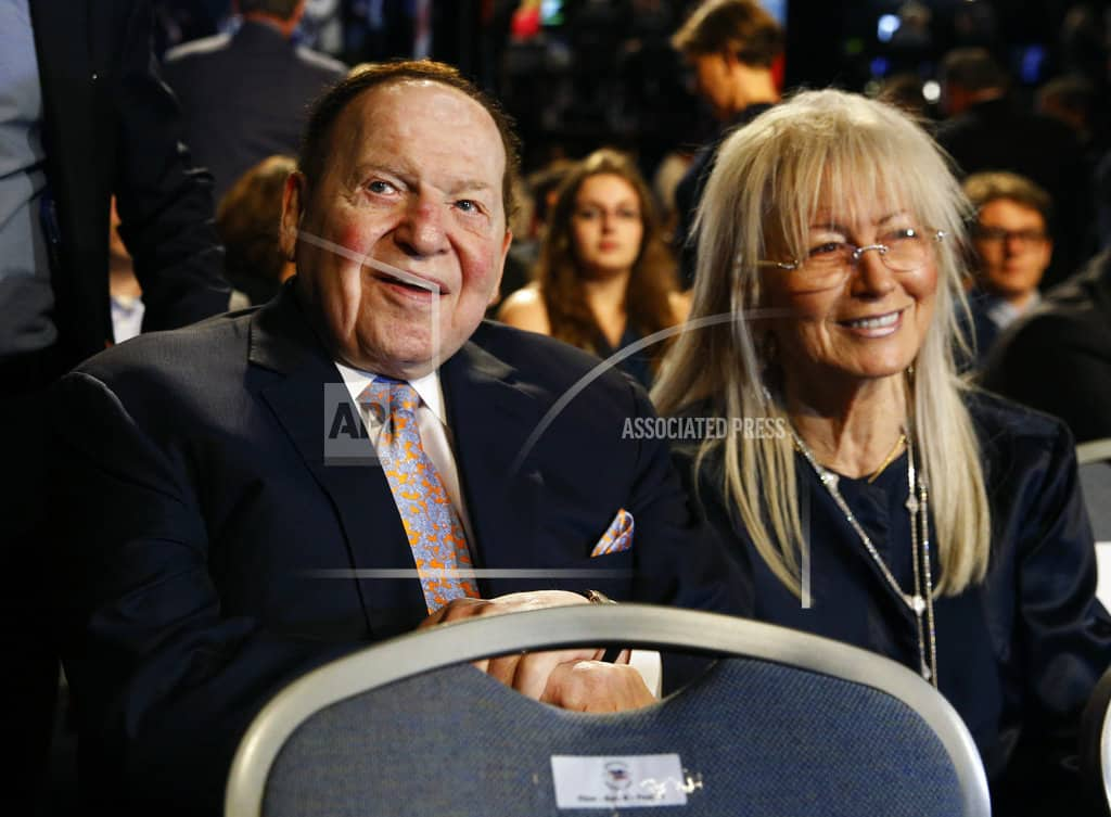 AP sources: Adelson offers to help pay for Jerusalem embassy