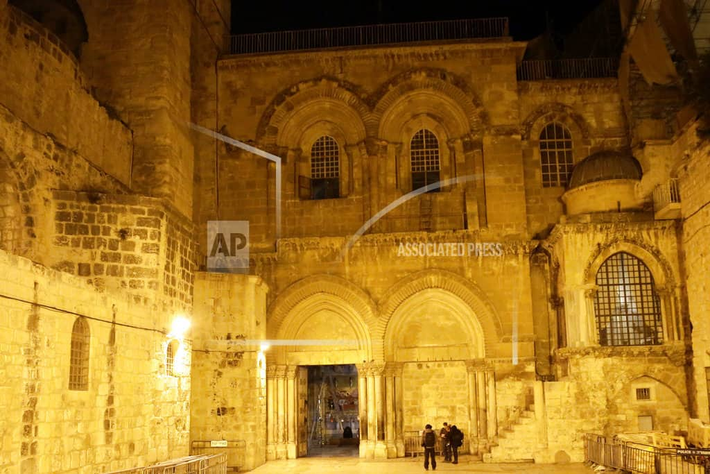 Church of the Holy Sepulchre reopens post Jerusalem tax spat