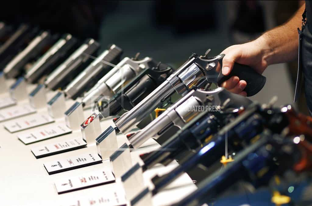 Delay in Nevada gun buyer law draws protests at court debate