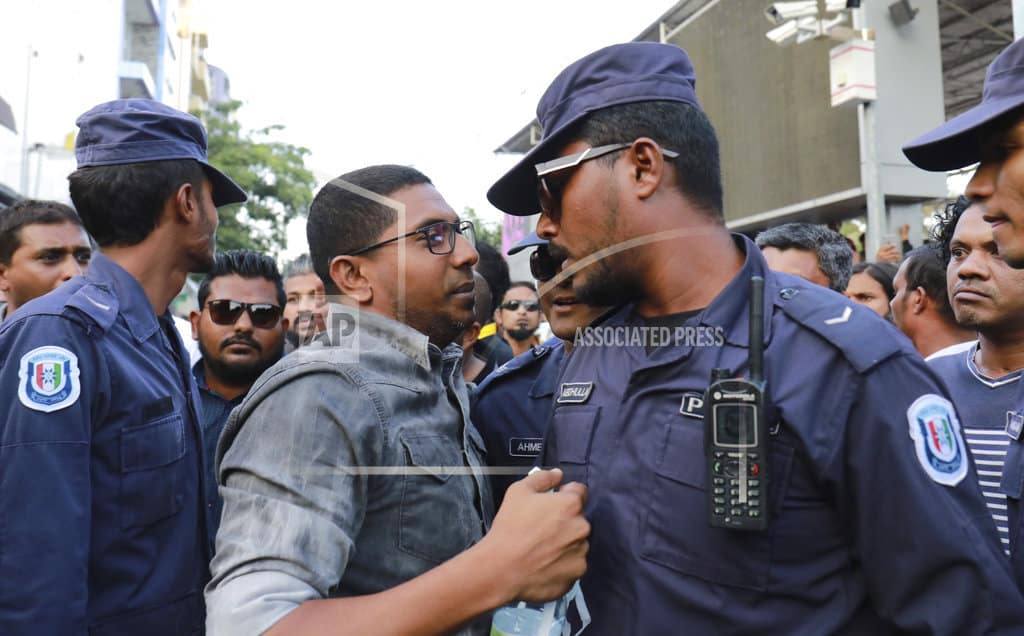 Maldives president fires 2nd police chief in 3 days