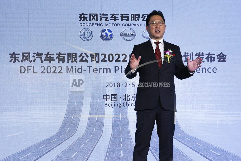 Nissan plans 20 electric models for China through 2022