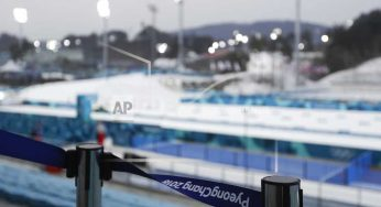 The Latest: Olympic organizers: 93 percent of tickets sold