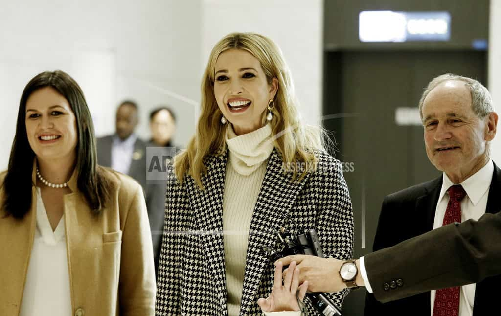 Ivanka Trump receives red-carpet welcome for Olympic visit