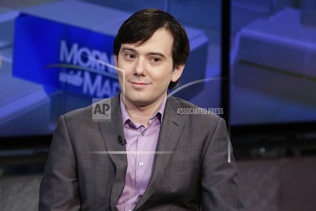 Hearing set on if US will seize assets of 'Pharma Bro'