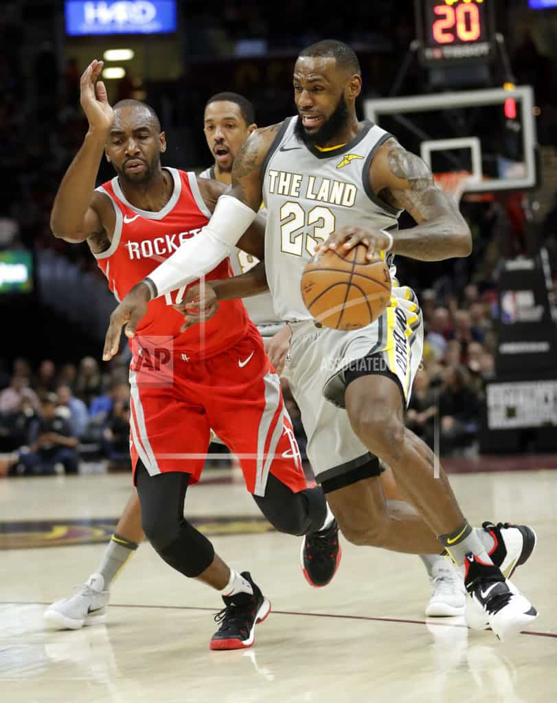 Rockets embarrass LeBron, disconnected Cavs 120-88